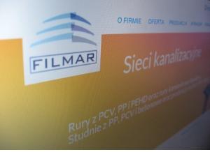 Strona www Filmar Wrocław